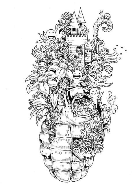 8 coloriages pour adulte de kerby rosanes 224 imprimer