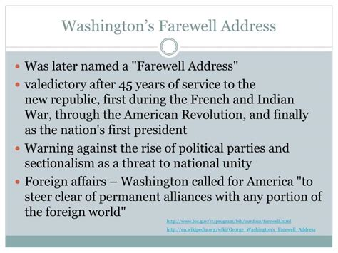 washington s farewell the founding s warning to future generations books ppt george washington powerpoint presentation id 1138669