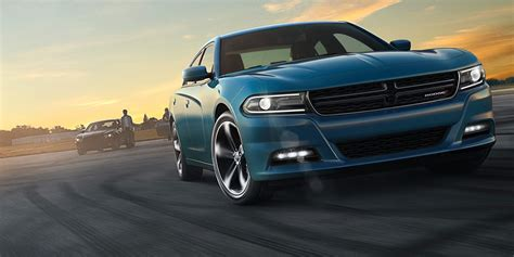 2016 dodge charger size sedan