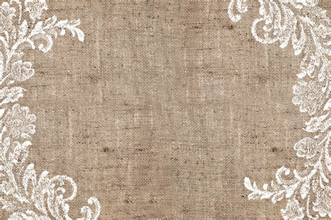 Burlap Lace Background Big Nest Furniture Design Burlap And Lace Template