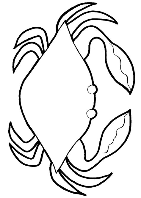 ghost crab coloring page 31 crab coloring pages crab 1 coloring page free