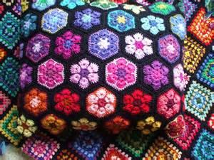 Crochet African Flower - african flower crochet cushion ruth flickr