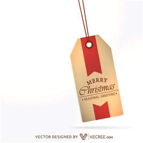 merry christmas tag  vector  vecree  deviantart
