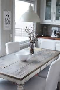 White And Wood Kitchen Table 1000 Ideas About Rustic Kitchen Tables On Rustic Kitchens Kitchen Tables And Wood