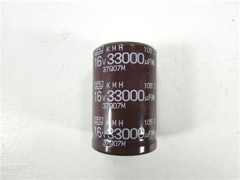 capacitor nippon chemicon new nippon chemi con 33000 uf 16 v capacitor ebay