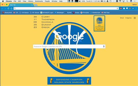 google themes nba golden state warriors chrome web store