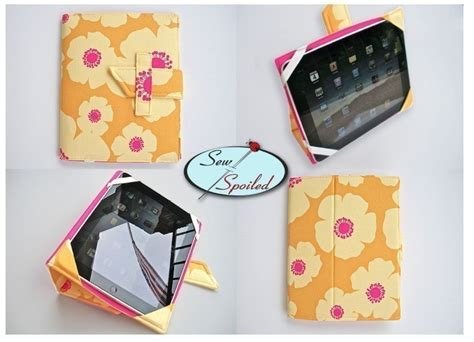 pattern for notebook case sewing pattern ipad folding case notebook stand epattern