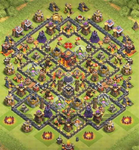 th10 layout names top 12 best th10 hybrid base 2018 new update anti