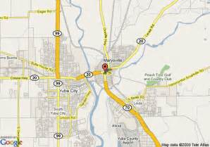 California Value Map Of Best Value Inn Of Marysville Yuba City Marysville