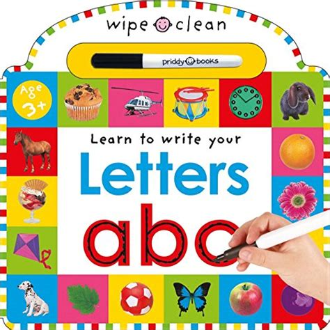 Animal Learn To Write Wipe Clean Activity Book abc alphabet books for the evolution