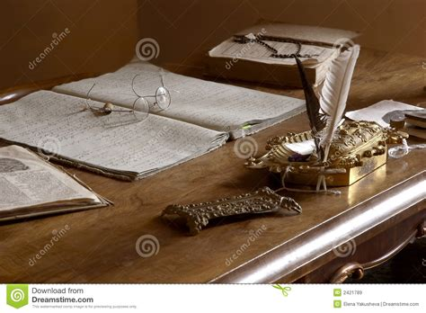 old fashioned office desk old fashioned private office royalty free stock images