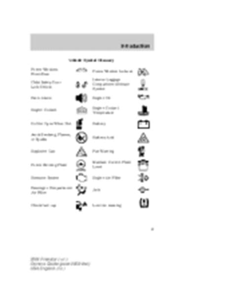 service manuals schematics 2004 ford freestar head up display 2004 ford freestar owner s manual page 8
