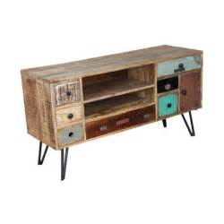 meuble tele vintage pas cher