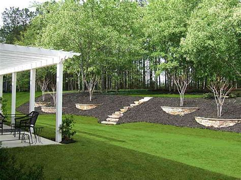 How To Level Backyard Slope by 25 Best Ideas About Backyard Hill Landscaping On