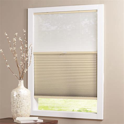 home decorators cordless cellular shade home decorators collection sahara 9 16 in cordless light