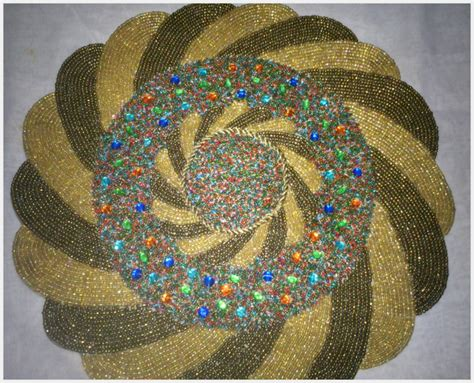 beaded table mats and coasters coasters and place mats manufacturer supplier of
