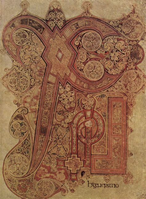 pictures of the book of kells manuscript illumination the minute