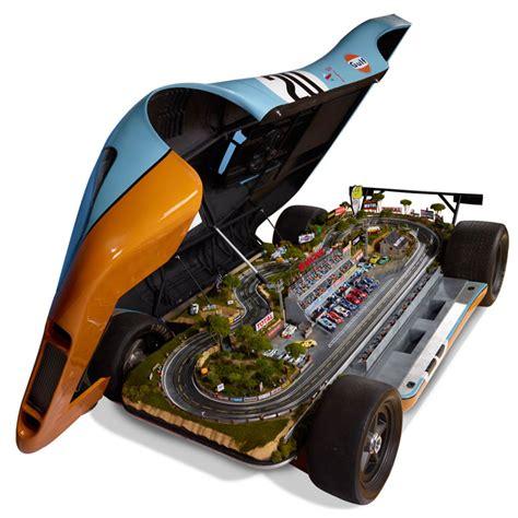 porsche slot car lifesize porsche 917 le mans raceway slot car track the