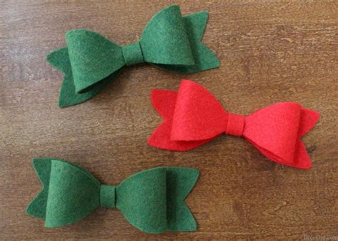 how to make the perfect christmas bow how to make bows from felt bren did