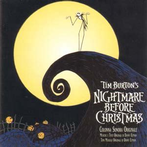 danny elfman il prigioniero nightmare before christmas the soundtrack details
