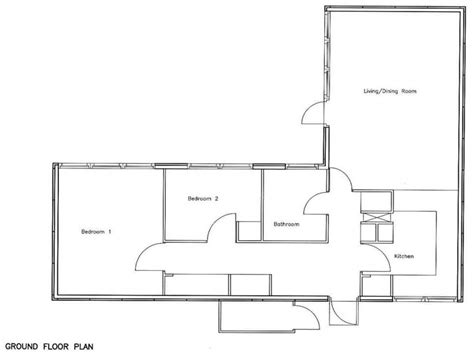 3 Bedroom Floor Plan Bungalow by 2 Bedroom Bungalow Floor Plan 2 Story Bungalow House Plans
