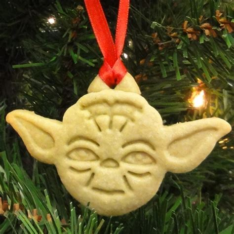 yoda cookie ornaments justjenn recipes justjenn recipes