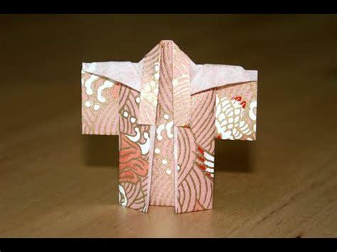 Origami Kimono Folding - origami kimono senbazuru