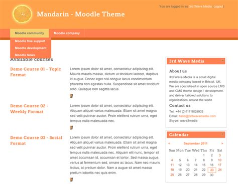 moodle themes not showing up moodle in english mandarin free moodle 2 1 theme