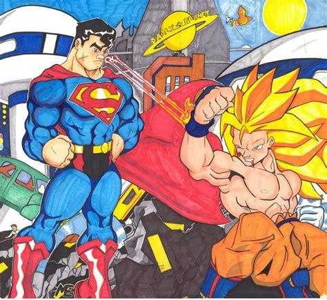 imagenes goku vs superman son goku vs superman im 225 genes taringa