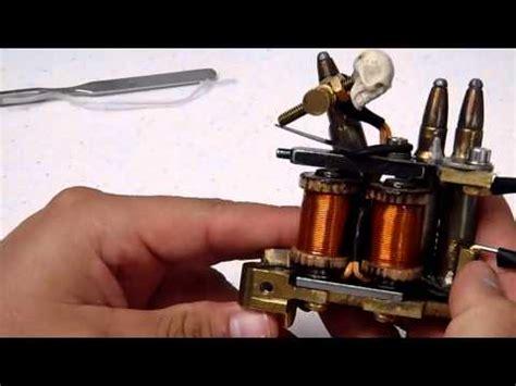tattoo machine liner tuning tattoo machine tuning liner and shader how to make do