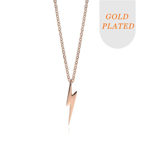 lucky charms flash gold plated necklace ektory