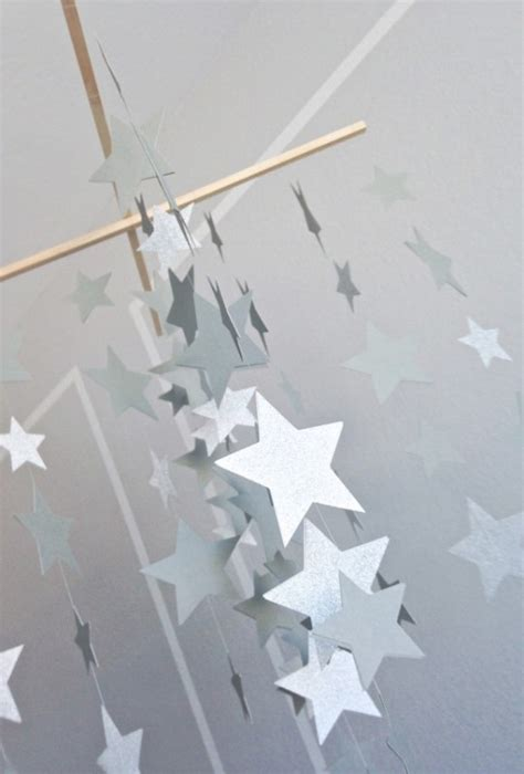 How To Make A Paper Mobile For Nursery - sweet diy galaxy crib mobile kidsomania