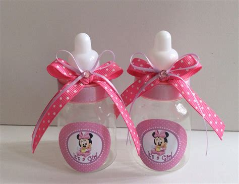 Minnie Mouse Baby Shower Theme by 12 Small 3 5 Minnie Mouse Baby Shower Favors In Pink And