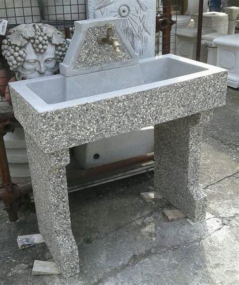 lavelli da esterno in cemento vasche e lavelli crear arredo esterni e giardino