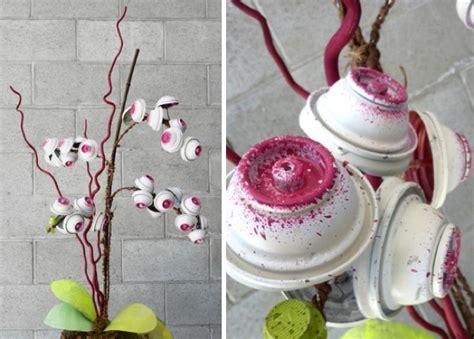 imagenes de flores reciclables 191 buena o mala idea flores artificiales hechas con botes