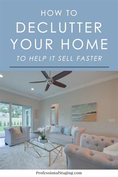 Where To Sell A by How To Declutter Your Home To Help It Sell Faster