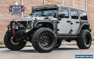 Jeep Wrangler Unlimited 4 Door 2017 Jeep Wrangler For Sale In The United States