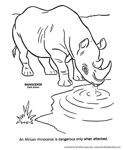 african animal coloring pages a z coloring pages