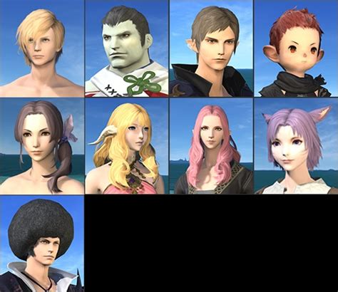 ffxiv haircuts full relese of 3 1 hair style
