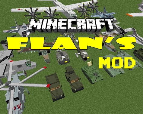mods in minecraft for 1 8 flan s mod for minecraft 1 8 1 7 10 1 7 2 pimpminecraft