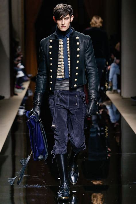 Mens What To Wear Couture In The City Fashion by Hungarian Army Elite Horsemen Inspire Balmain Mens Fall