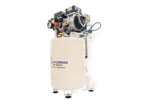 california air tools 1 hp 10 gallon lf series free dental lab air compressor air
