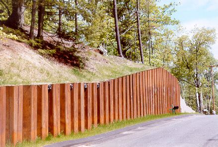 timber sheet pile wall retaining walls 171 geotechnical engineering 101 and more