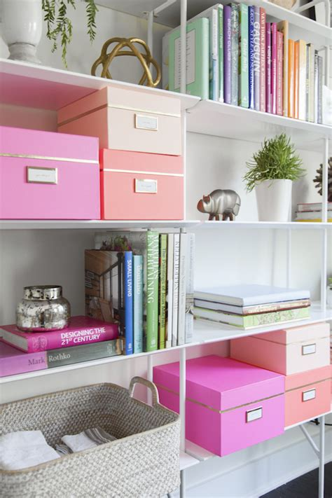 pretty bedroom storage boxes how we organize our workspace camille styles