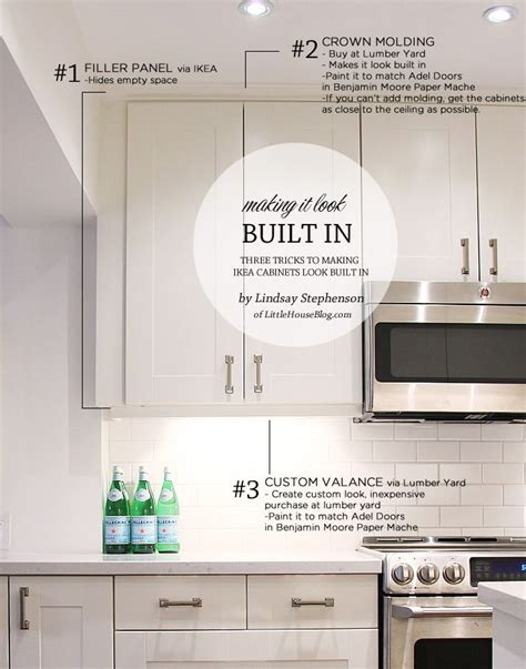 making ikea cabinets look built in 13746 best kitchen decor images on pinterest kitchen