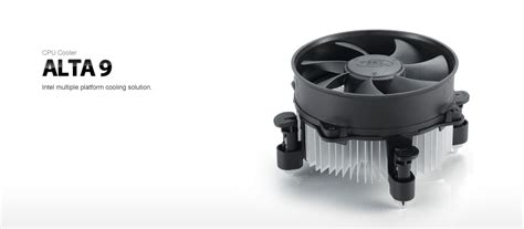 Dijamin Deepcool Alta 9 Lga 775 1155 1156 deepcool alta 9 cpu cooler suit intel 1150 1155 1156 775 with 92mm fan ebay