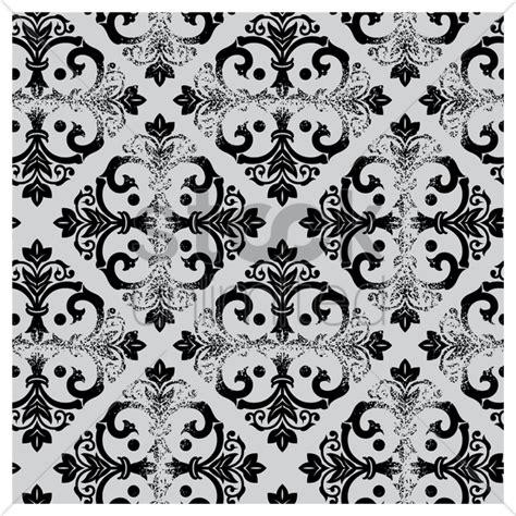 black and white pattern vintage damask vintage black and white pattern vector image
