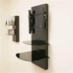 tv wall mount brackets with shelves tv wall mount bracket shelves tilt vesa lcd up to32 ebay