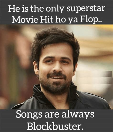 Superstar Meme - he is the only superstar movie hit ho ya flop songs are