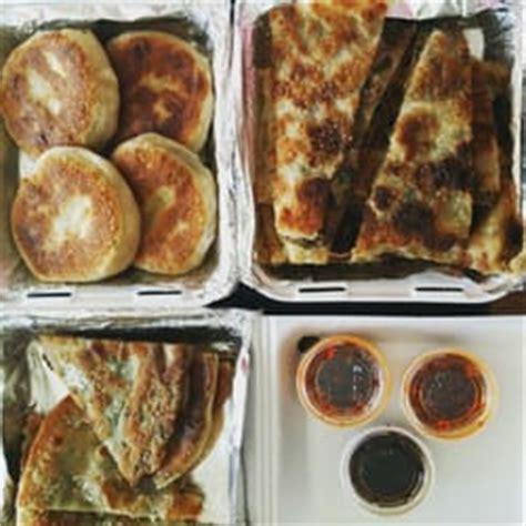 beijing pie house green onion pancake aka scallion pancake aka cong you bing maggie c left tips and